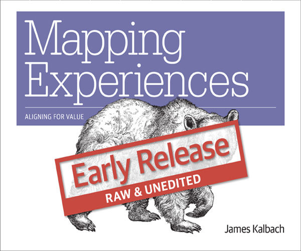 Mapping Experiences, James Kalbach