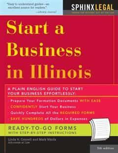 Start a Business in Illinois, Linda H Connel