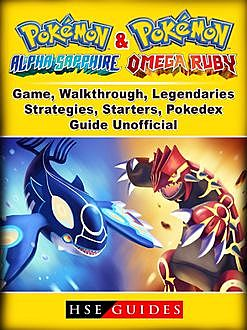 Pokemon Alpha Sapphire Game, Cheats, Events Guide Unofficial, The Yuw