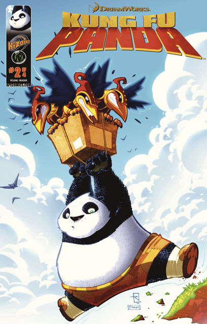 Kung Fu Panda Vol 1 Issue 2, Matt Anderson, Jim Hankins