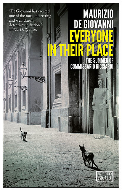 Everyone in their Place, Maurizio De Giovanni