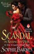 The Scandal in Kissing an Heir, Sophie Barnes