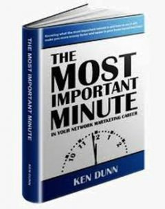 THE MOST IMPORTANT MINUTE, KEN DUNN