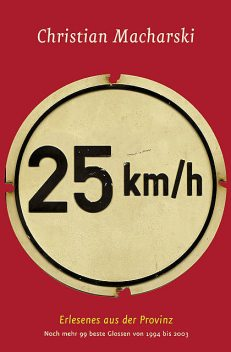25 km/h, Christian Macharski