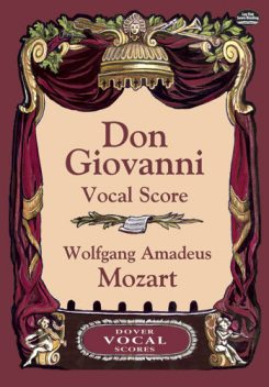 Don Giovanni Vocal Score, Wolfgang Amadeus Mozart