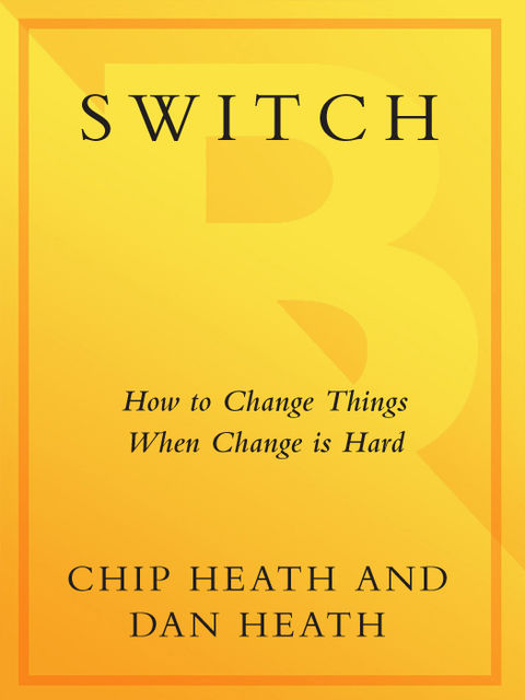 Switch, Chip Heath