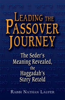 Leading the Passover Journey, Rabbi Nathan Laufer