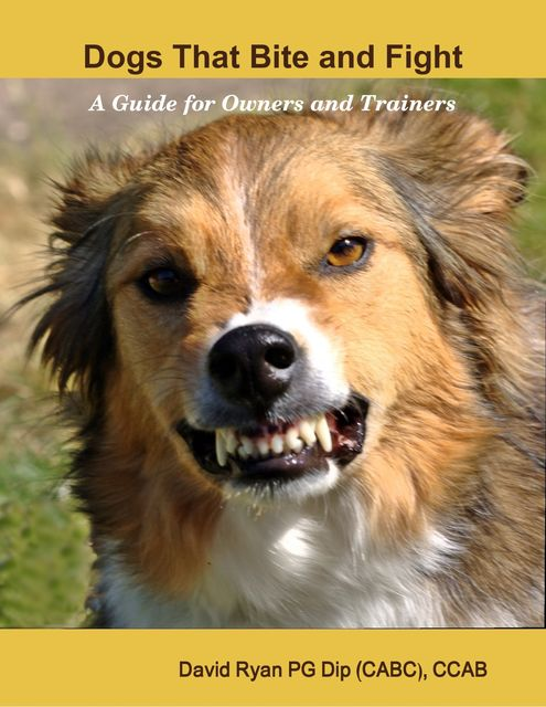 Dogs That Bite and Fight: A Guide for Owners and Trainers, David Ryan PG Dip CCAB