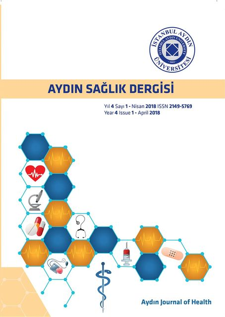 Aydin Journal of Health, AYDIN SAGLIK DERGISI