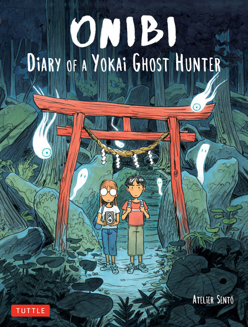 Onibi: Diary of a Yokai Ghost Hunter, Cecile Brun, Olivier Pichard
