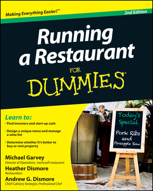 Running a Restaurant For Dummies, 2nd Edition,