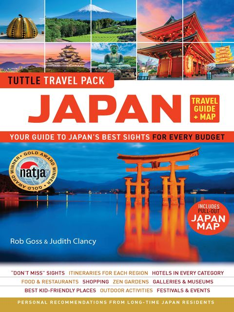 Japan Tuttle Travel Pack, Wendy Hutton