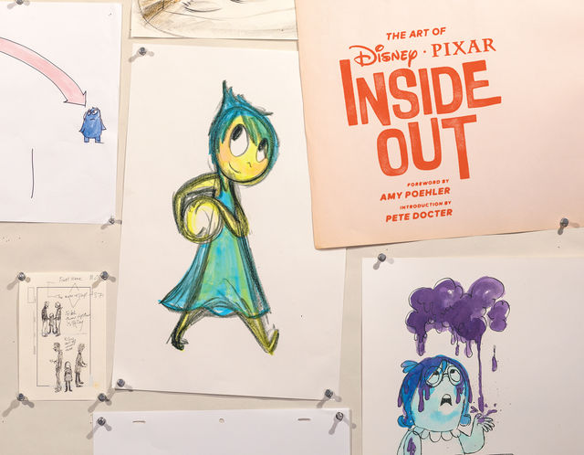 The Art of Inside Out, Amy Poehler, Pete Docter