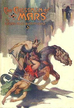 The Chessmen of Mars, Edgar Rice Burroughs