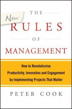 The New Rules of Management, Peter Cook