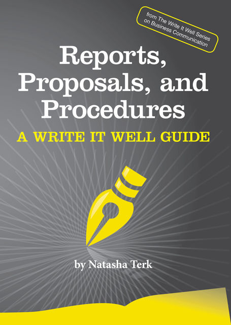 Reports, Proposals, and Procedures, Natasha Terk