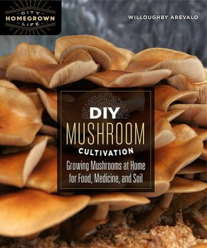 DIY Mushroom Cultivation, Willoughby Arevalo