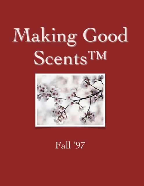 Making Good Scents™ – Fall 97, Ololade Franklin