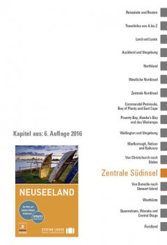 Neuseeland: Zentrale Südinsel, Alison Mudd, Helen Ochyra, Jo James, Paul Whitfield