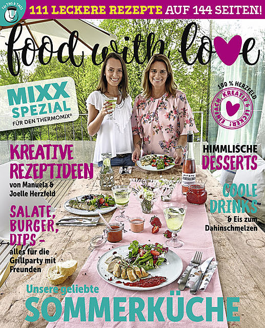 Food with Love – Sommerküche, amp, Joelle Herzfeld, Manuela
