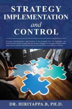 Strategy Implementation and Control, Hiriyappa B