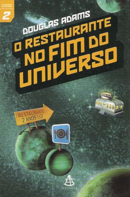 O Restaurante no Fim do Universo, Douglas Adams