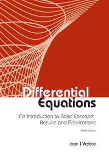 Differential Equations, Ioan I Vrabie