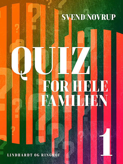 Quiz for hele familien 1, Svend Novrup