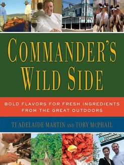 Commander's Wild Side, Ti Adelaide Martin, Tory McPhail