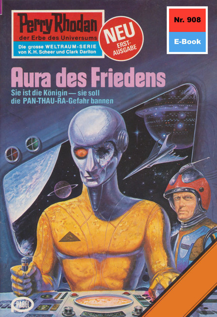 Perry Rhodan 908: Aura des Friedens, William Voltz