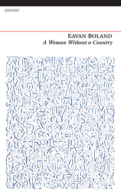 A Woman Without a Country, Eavan Boland