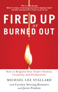 Fired Up or Burned Out, Michael L. Stallard