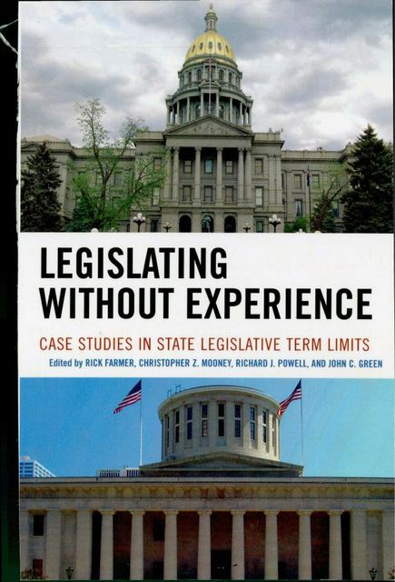 Legislating Without Experience, John Green