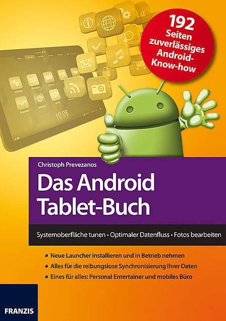Das Android Tablet-Buch, Christoph Prevezanos