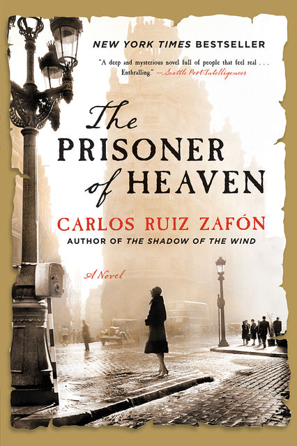 The Prisoner of Heaven: A Novel, Carlos Ruiz Zafón