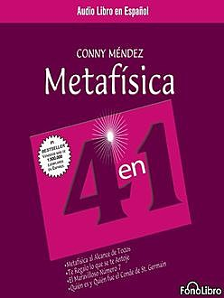 Metafísica 4 En 1 Vol 1, Conny Méndez