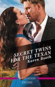 Secret Twins For The Texan, Karen Booth