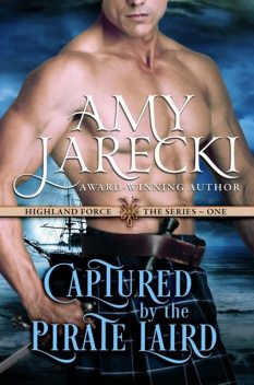 Captured by the Pirate Laird, Amy Jarecki