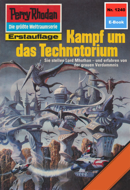 Perry Rhodan 1240: Kampf um das Technotorium, Peter Griese