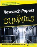 Research Papers For Dummies, Geraldine Woods