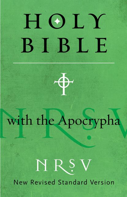NRSV Bible with the Apocrypha, Harper Bibles