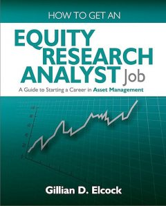 How To Get An Equity Research Analyst Job, Gillian Elcock