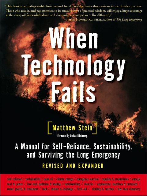 When Technology Fails, Matthew Stein