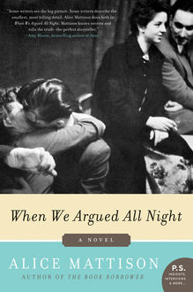 When We Argued All Night, Alice Mattison