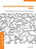 Major Trends in Theoretical and Applied Linguistics 1, Anna Borowska