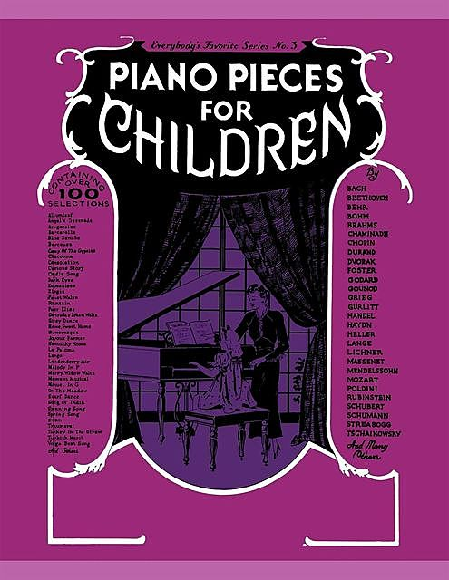 Piano Pieces for Young Children (EFS No.252), Amy Appleby