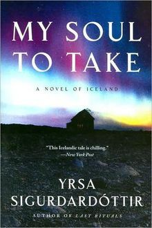 My Soul to Take, Yrsa Sigurdardottir