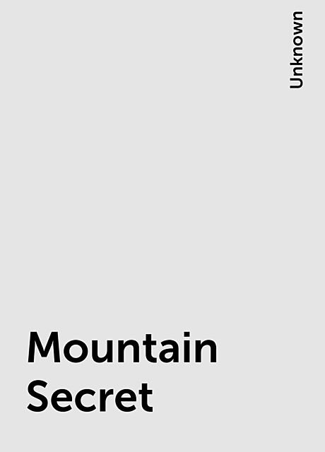 Mountain Secret,