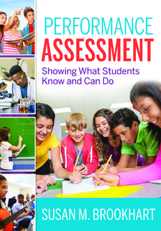 Performance Assessment: Showing What Students Know and Can Do, Susan M. Brookhart