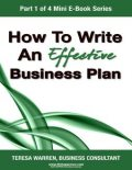 How to Write an Effective Business Plan, Business Consultant, Teresa Warren